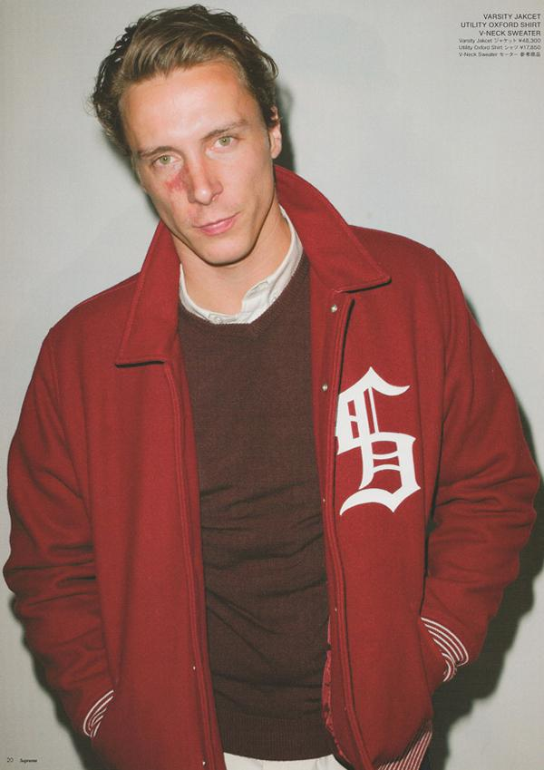 SUPREME – F/W 2010 COLLECTION LOOKBOOK BY TERRY RICHARDSON