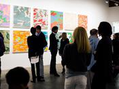 Andy warhol camouflage exhibition honor fraser opening