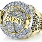 Bague nba lakers