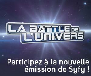 La Battle de L'Univers : SyFy gâte les cosplayers