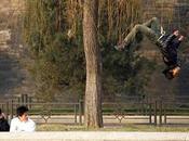 Parkour, pratique devenue populaire chez jeunes chinois