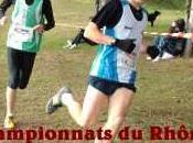 Championnats Rhône Cross espoirs testent.