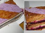 Millefeuille .... cassis violette Ladurée