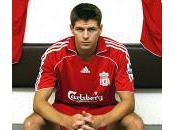 Foot anglais Steven Gerrard livre