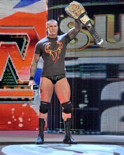 Le Champion de la WWE Randy Orton