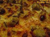 Pizza gourmande façon