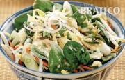 Salade d'épinards à la thaï