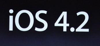 Apple : iOS 4.2, la nouvelle version du système d'exploitation disponible le 9 ou 12 novembre ?