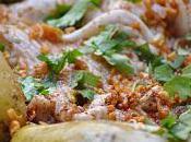 Aile raie beurre noisette croustillant coriandre, Pommes terre cuites dans