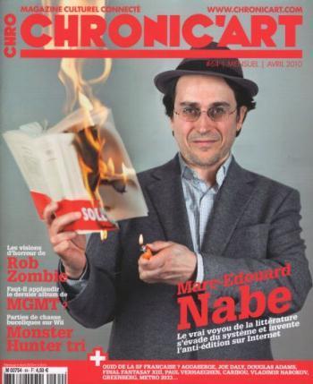 Entretien avec Marc-Édouard NABE, L'Homme qui arrêta d'écrire