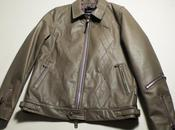 Goodenough 2010 argyle leather jacket