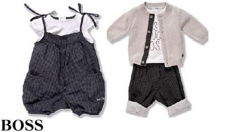 Boss Kidswear, la collection naissance de Boss pour bebe fille et gracon
