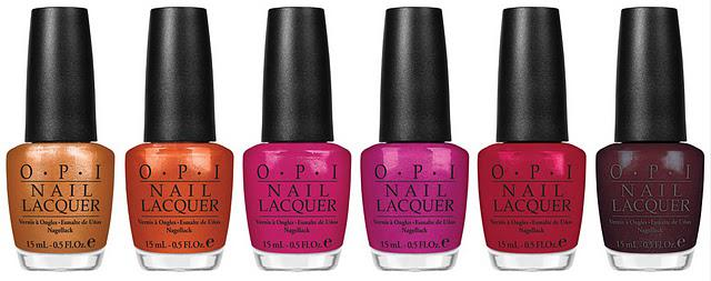 Nouvelle collection Opi : Burlesque