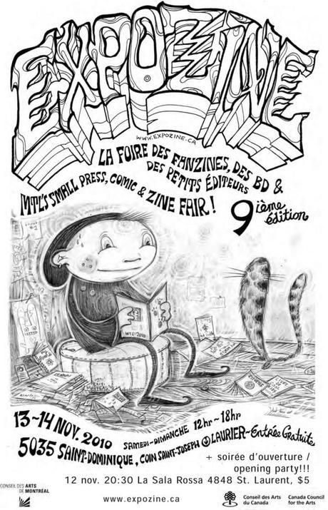 Les Éditions Dédicaces ont participé à l'Expozine 2010, à Montréal