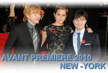 Livestream Harry Potter Première à New-York