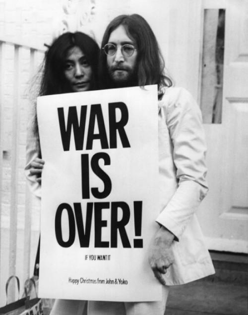 WAR IS OVER! (if you want it)