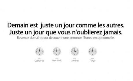 Apple : une annonce très importante liée à iTunes demain à 16h