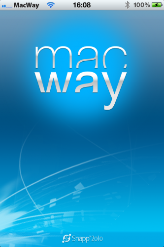 MacWay lance son application iPhone