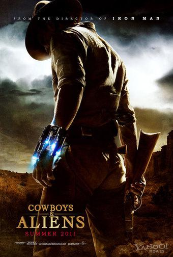 Cowboys and Aliens : cool lonesome poster