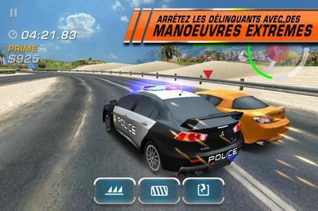 Jeu iPhone : Need For Speed Hot Pursuit disponible sur l'AppStore