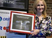 J.K. Rowling remporte prix littérature Hans Christian Andersen