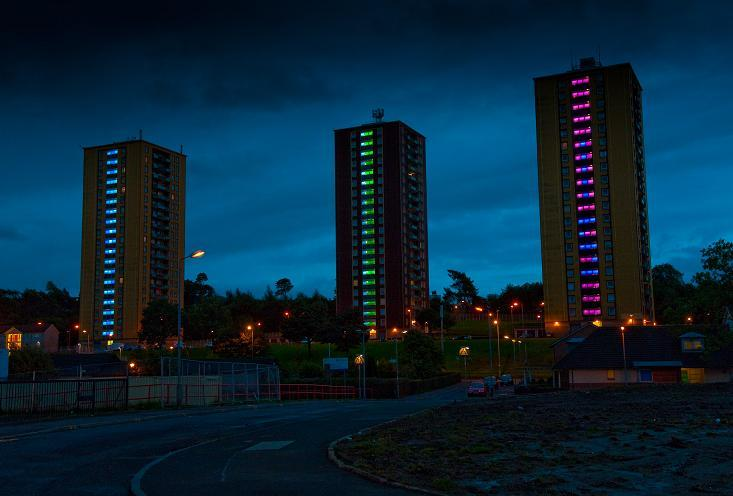 Castlemilk Lighting Project - Glasgow