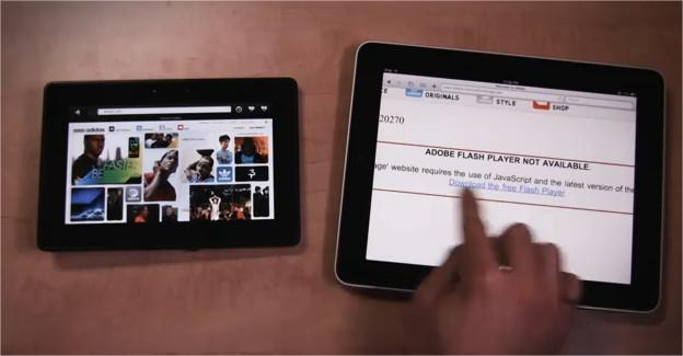 Ipad vs Blackberry Playbook