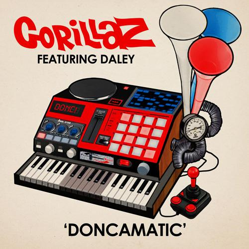 in Gorillaz - Doncamatic (feat. Daley)