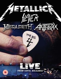 The Big 4 : Metallica, Slayer, Megadeth, Anthrax, Live From sofia, Bulgaria