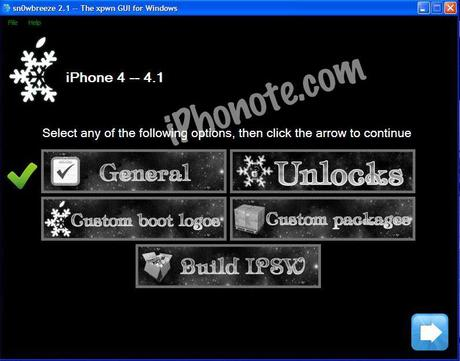Tutoriel Jailbreak iOS 4.1 avec Sn0wbreeze 2.1