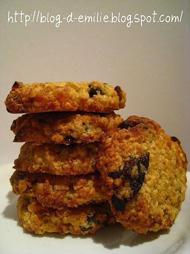 Cookies aux abricots et aux pruneaux