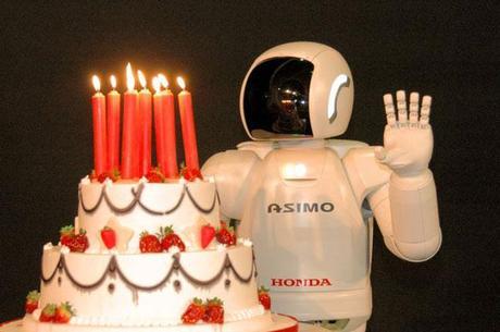Joyeux Anniversaire ASIMO