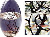 écosystème domestique, biosphère, écosculpture, maison ferme