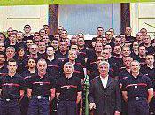 maire Tarbes fait propagande pompiers