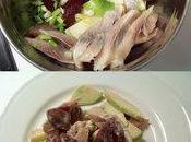 salade hareng, betteraves pomme granny