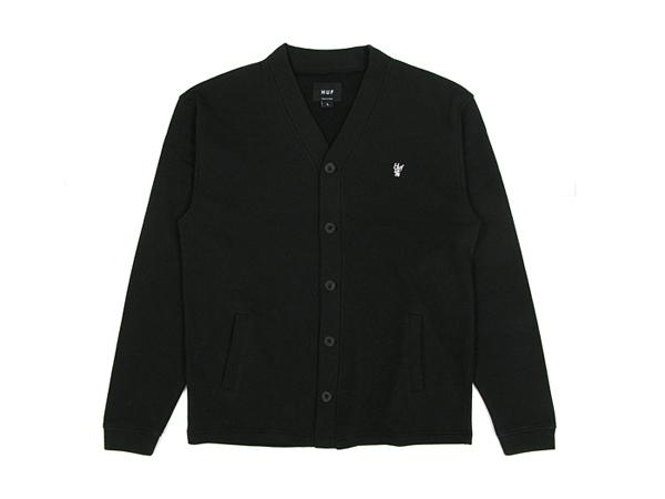 HUF – SPRING 2011 – FRENCH TERRY CARDIGAN