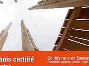Agenda Conférence l'Ensas Utiliser bois certifié lutter contre déforestation