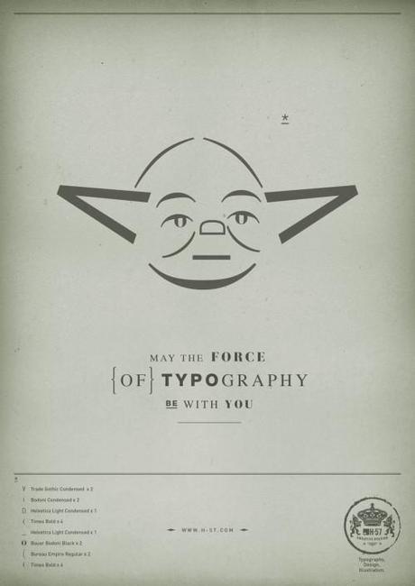 23 star wars 03 499x706 Que la force typographique soit avec toi !