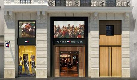 Tommy Hilfiger Paris Champs-Elysees, la plus grande boutique Tommy Hilfiger d Europe
