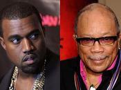 Weekly offense grand Quincy Jones comparant petit Kanye grandeur