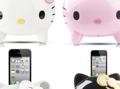 Stations Ipod Iphone Hello kitty coloris