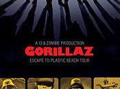 Gorillaz Escape Plastic Beach Tour Lotto Arena Antwerpen, Novembre 2010