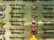 Médailles Mode Prestige Call Duty