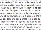 Mathieu passionne pour Kazados.tv, Julie sourit Membrey chipote