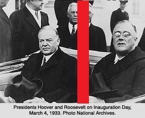 House divided : Hoover vs Roosevelt ?