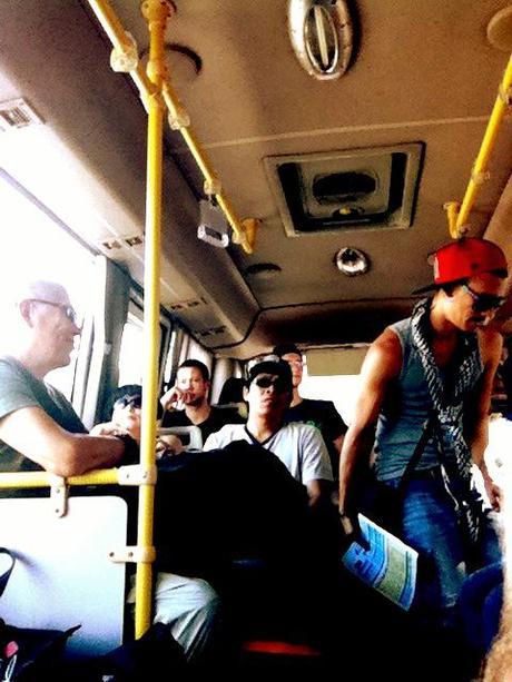 bus loaded