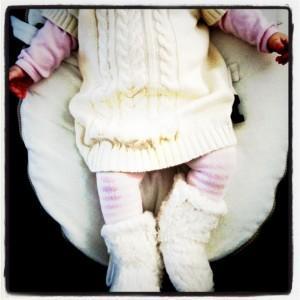 Ma mini-moi #8 | La robe pull