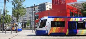 Le tram-train de Mulhouse