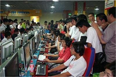 400 millions d'internautes chinois... DR