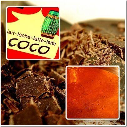 lait coco chocolat